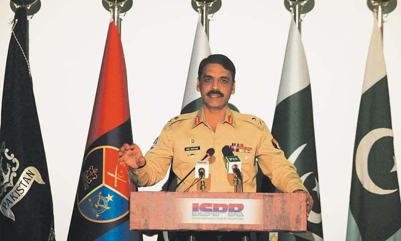 Press Conference of DG ISPR Major Gen. Asif Ghafoor
