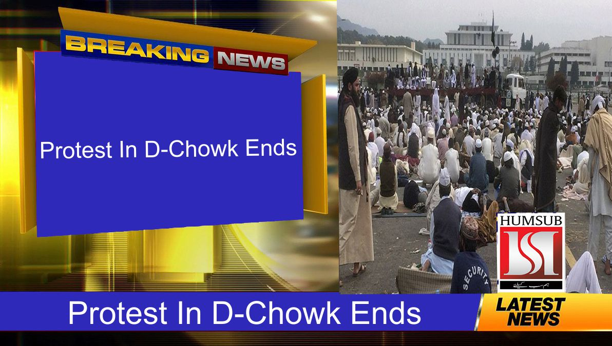 Protest In D-Chowk Ends