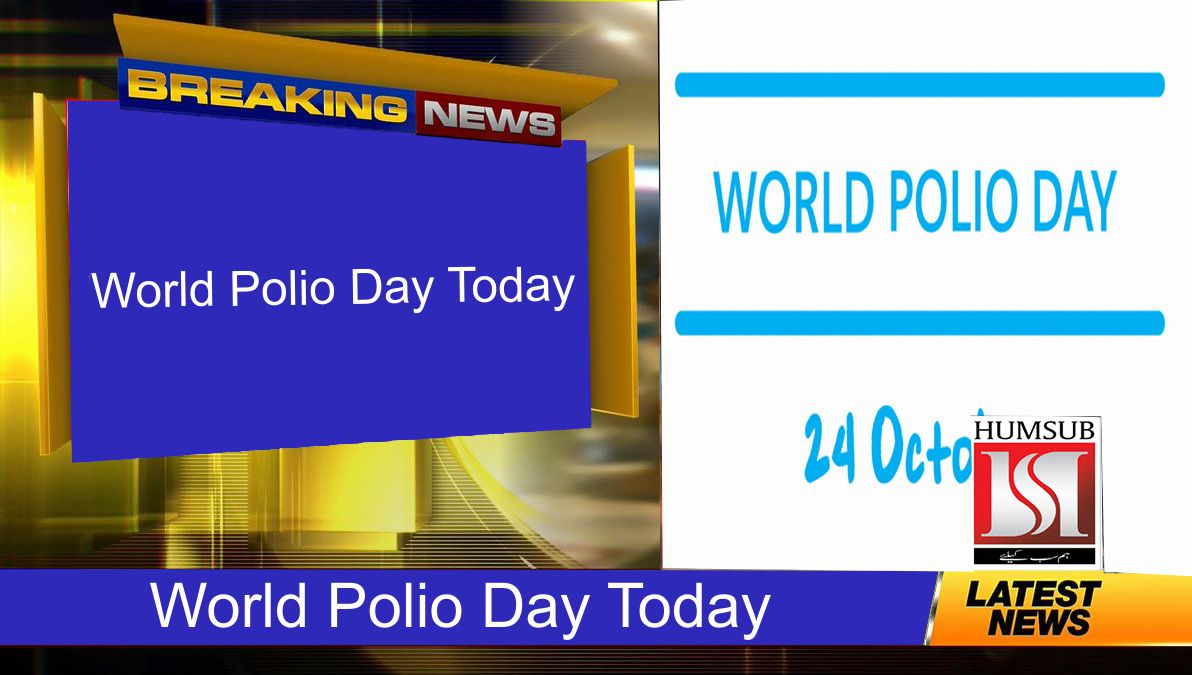 World Polio Day Today