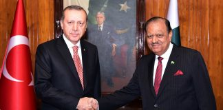 Turkey stands with Pakistan