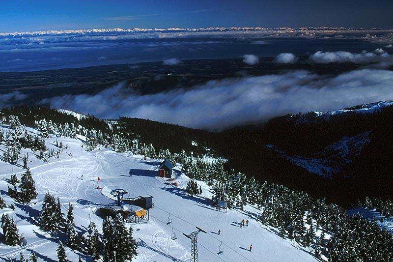 Vancouver Island More Snowfall