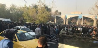Almost 450 people arrested in Iranian protests