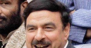 Feb 21 2018 Sheikh Rasheed Media Talk Outside NAB Office HumSub TV