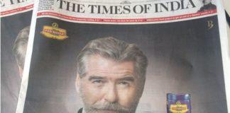 """""""Pan Bahar"""" Indian Paan Masala Company Cheated HollyWood Star Pierce Brosnan"""