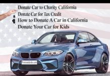 Are you planning to donate a car in California