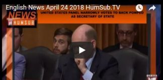 English News April 24 2018 HumSub.TV