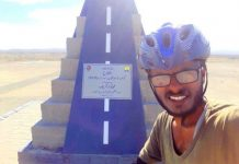 Pakistani Cyclist 186 Days Journey Completed