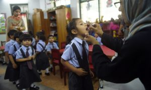 Polio Vaccine Drive Launched