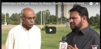 Politicians and Public Views On Nawaz Sharif's Statement About Mumbai Attacks HumSub.TV