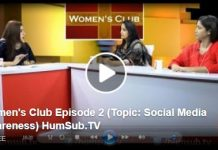 Women's Club Episode 2 (Topic: Social Media Awareness) HumSub.TV