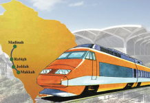 High Speed Railway Linking Makkah And Madina