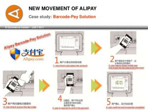 Alipay mobile payment application