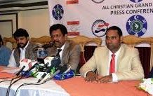 All Christians Grand Alliance Announced By Pakistan Interfaith League