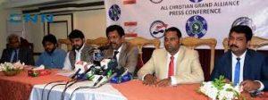 All Christians Grand Alliance Announced By Pakistan Interfaith League