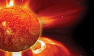 Massive Solar Storm Projected To Hit Earth Today