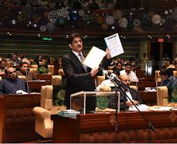 Main Features of Sindh Budget Presented By CM Sindh