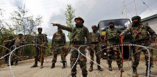Indian Troops Firing Along LoC
