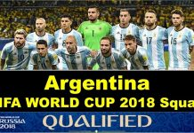 FIFA world Cup 2018 Argentine's Squad Announced