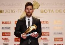 European Golder Shoe Award Bagged By FC Barcelona's Star Lionel Messi