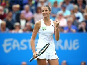 Pliskova, the highest-ranked player