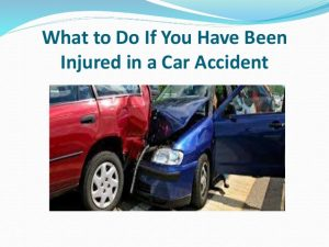 Things To Do When You Get A Personal Injury