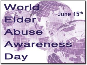 World Elder Abuse Awareness Day to be mark on June 15