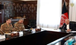 COAS Meeting With Afghan President For Strengthening Peace