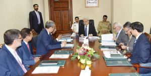 PM Chaired Meetings On NHS&R And National Water Policy