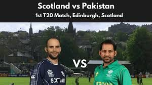 Scotland Lost To Pakistan In The First T20I