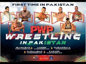 Pakistan's Second International Professional Wrestling Event