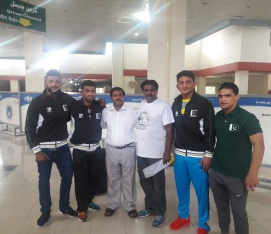 Pakistani Wrestlers Off To India For Asian Junior Wrestling Championship
