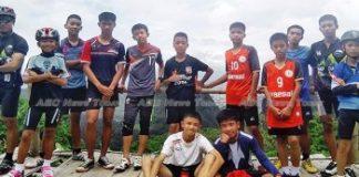 Thailand Football Team Found Alive But Still In Cave
