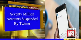 70 Million Accounts Suspended By Twitter