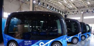 Baidu Announces China's First Fully Autonomous Bus Apolong