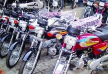 Sale Of Motor Bikes And Three Wheelers In The Country Increased