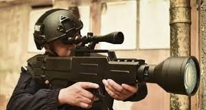 Laser AK-47 Developed By China For Police That Can Set Fire To Targets From 800m
