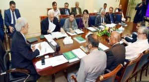Cabinet Meeting Chaired By Caretaker PM