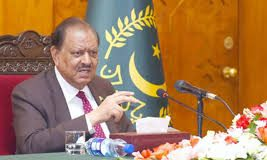 President Mamnoon Lauded Role of NCHD