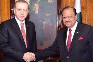 President Mamnoon Lauded TIKA Efforts In Pakistan