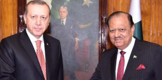 President Mamnoon Lauded TIKA Efforts In Pakistan