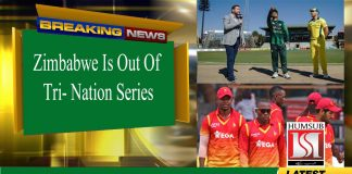 Zimbabwe Is Out of Tri-Nation Series