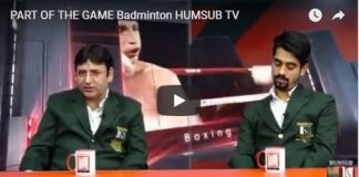 Humsub.Tv Part Of The Game Badminton 10th Febuary 2018