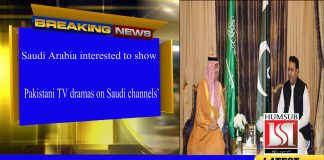 'Saudi Arabia interested to show Pakistani TV dramas on Saudi channels'