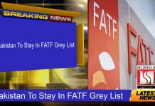 Pakistan To Stay In FATF Grey List