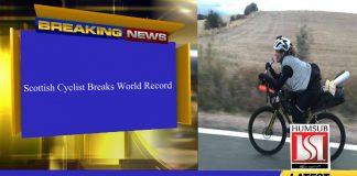 Scottish Cyclist Breaks World Record