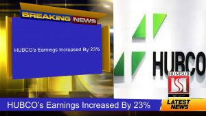 HUBCO's Earnings Increased By 23%