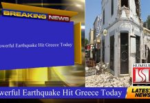 Powerful Earthquake Hit Greece Today