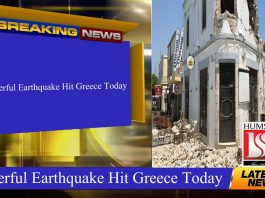 Powerful Earthquake Hit Greece Today