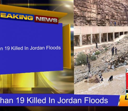 More Than 19 Killed In Jordan Floods