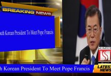 South Korean President To Meet Pope Francis